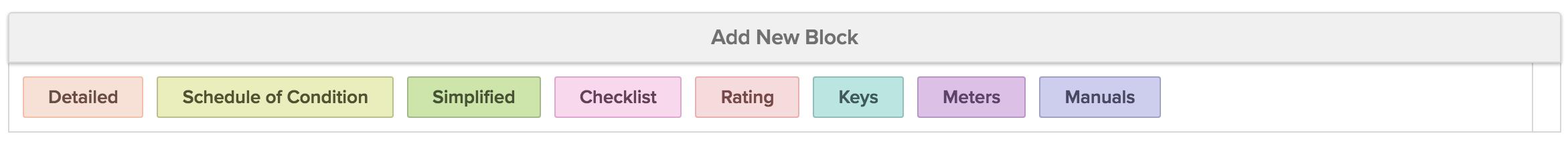 Block/Format Types