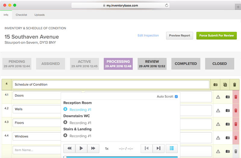 Built-in Audio Transcription
