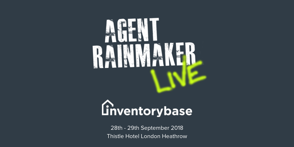 InventoryBase to present their market leading property inspection software at Agent Rainmaker LIVE.
