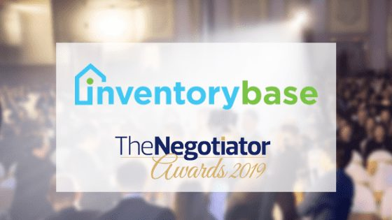 InventoryBase receive 'highly commended' placing in two categories in the 2019 Negotiator Awards