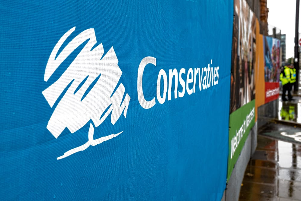 Are property investors confident in the Conservative government?
