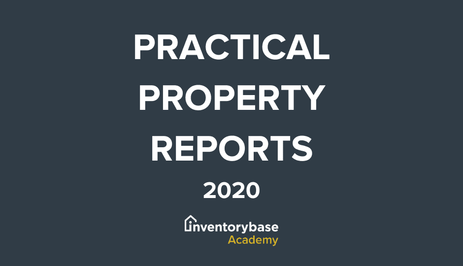 Practical Property Reports Training – January 2020