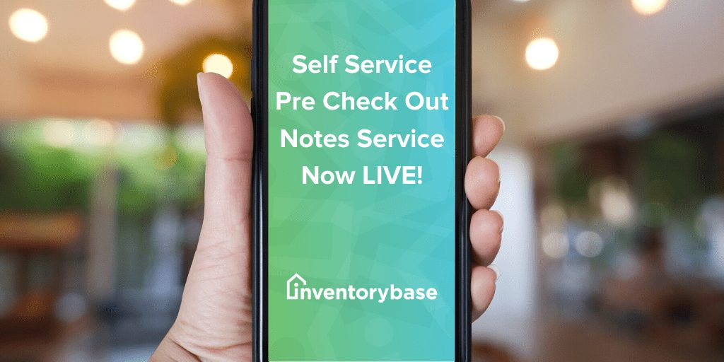 Our new tenant pre check out notes service is now LIVE!