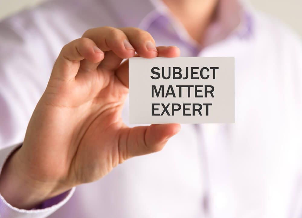 Inventory Clerks – Are You A Subject Matter Expert?