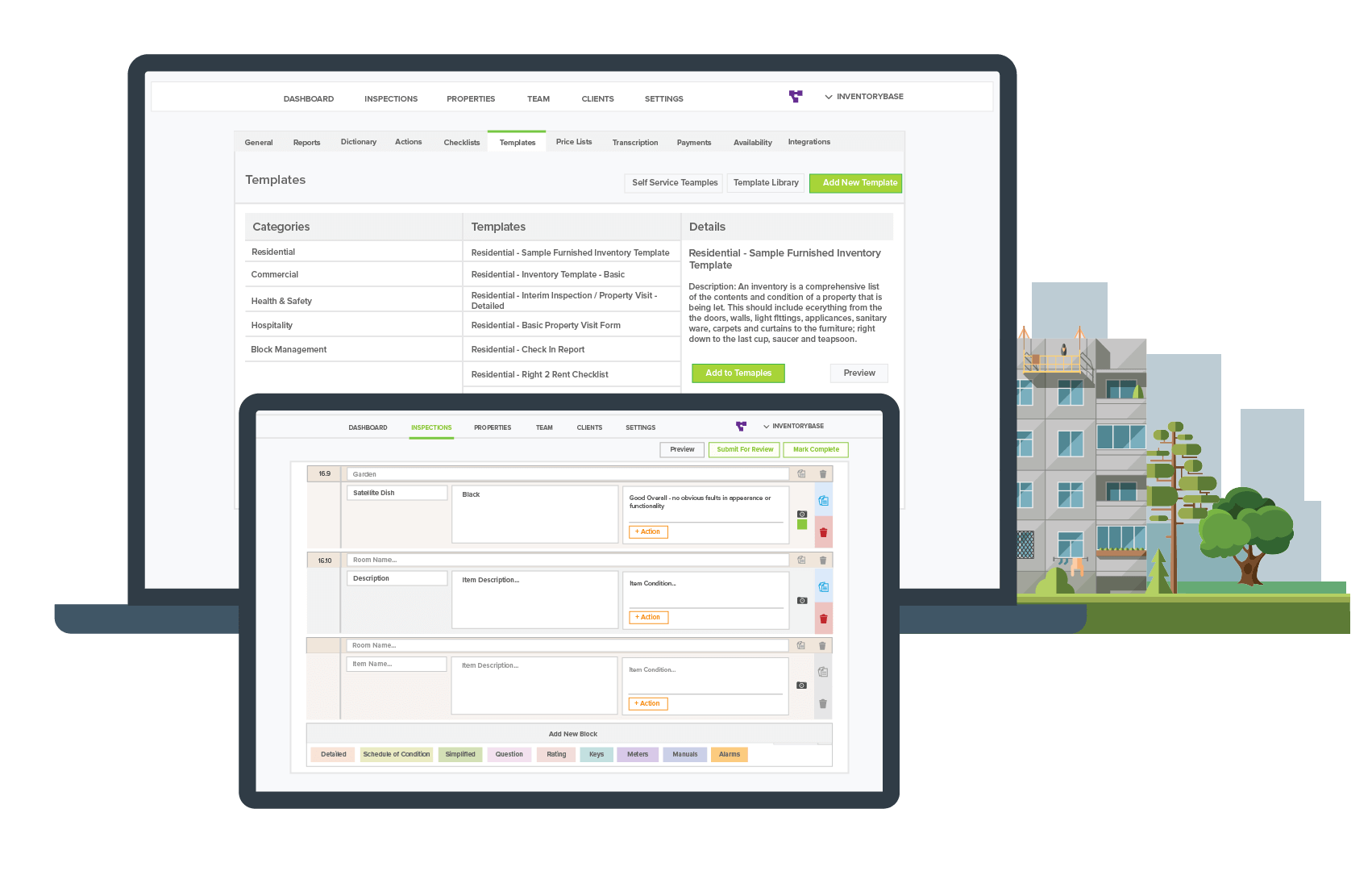 Software designed for Inventory Clerks
