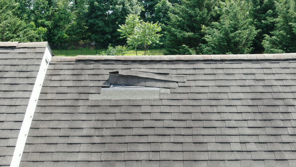 Using drones for roof inspections